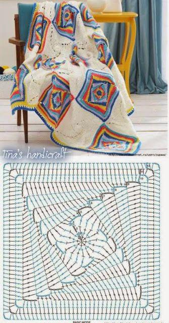 Tina's handicraft : κουβέρτες
