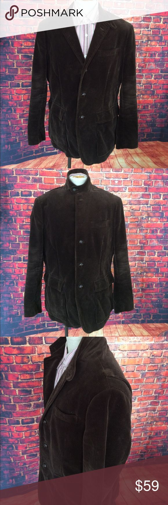 POLO by Ralph Lauren Brown Corduroy Jacket Size L POLO by Ralph Lauren Brown Corduroy Jacket Size L. Worn many times but still has life left. Polo by Ralph Lauren Jackets & Coats