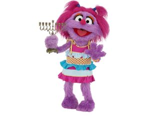 Learn about the Jewish Holiday of Hanukkah with Avigail and the characters from Shalom Sesame