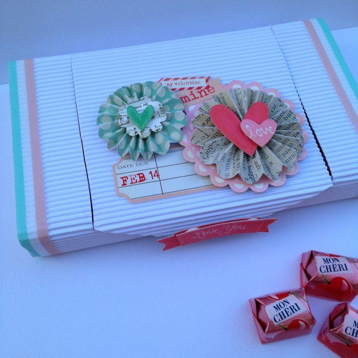1000 images about caja con mini album san valentin on - Album para san valentin ...