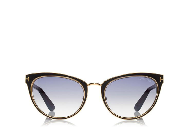 Nina Cat-Eye Sunglasses | Shop Tom Ford Online Store