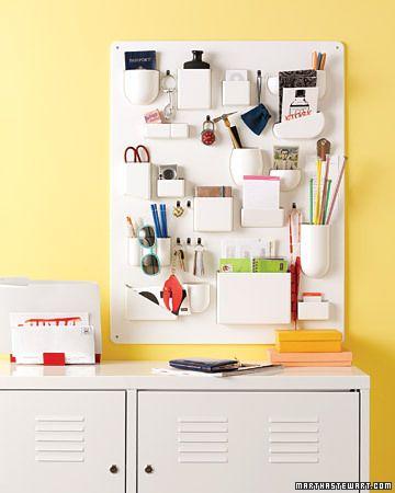 Hvit Linje: Smart oppbevaring - gjør det selv!