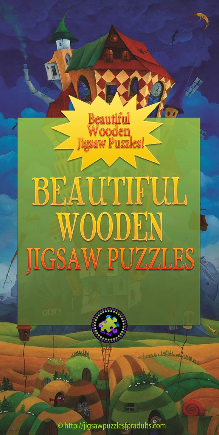 You'll find Wooden Jigsaw Puzzles from the most popular brands like Artifact wooden puzzles and Wentworth wooden puzzles. You'll also see some other wooden puzzles companies that are not to familiar. Whether you are looking for a high quality keepsake jigsaw puzzle for yourself or as a gift, you won't be disappointed. Find out how one man makes a living with his Hand Carved one of a Kind Wooden Jigsaw Puzzles as well.