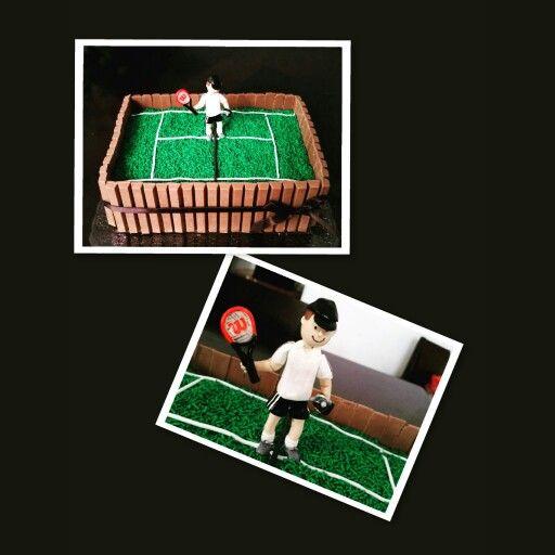 Topo de bolo tenista