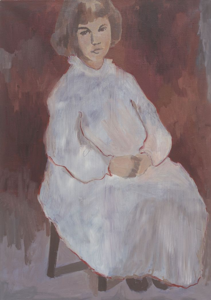 Irina Schuvaloff, Runs in the family 2015, oil on canvas 100 x 70
