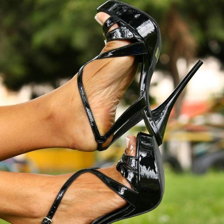Strappy High Heels TGP