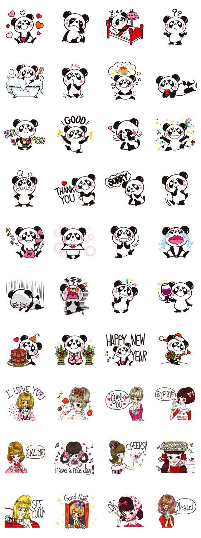 Panditas cute