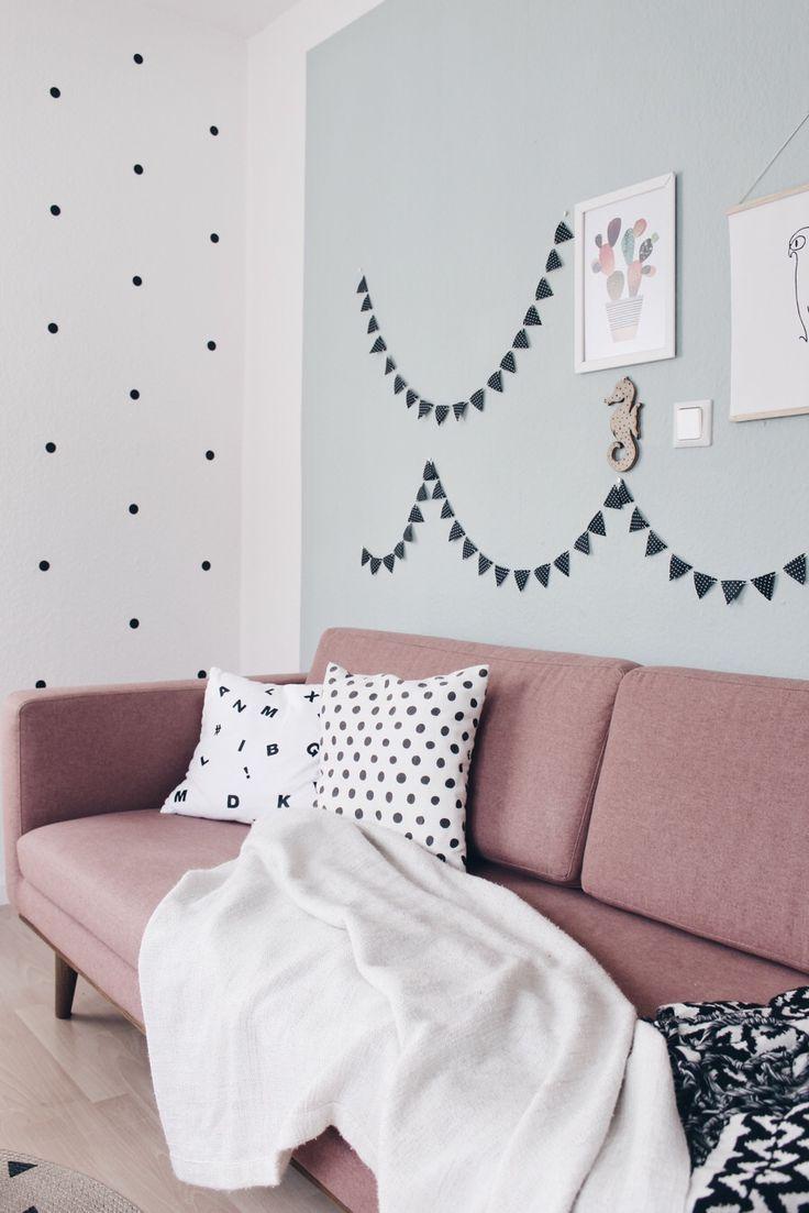 Diy Wimpelkette Selber Machen Couchtisch Selber Bauen Zimmer Gestalten Zimmer Deko Ideen