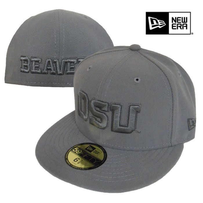 oregon state beavers on field baseball fitted hat new era storm apparel