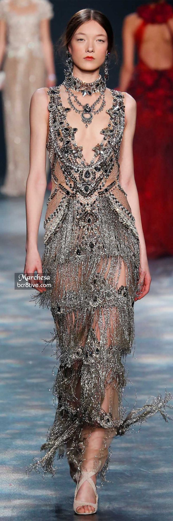 Marchesa designs are everything to me. They are filled with so much hard work and the amount of detail is incredible.