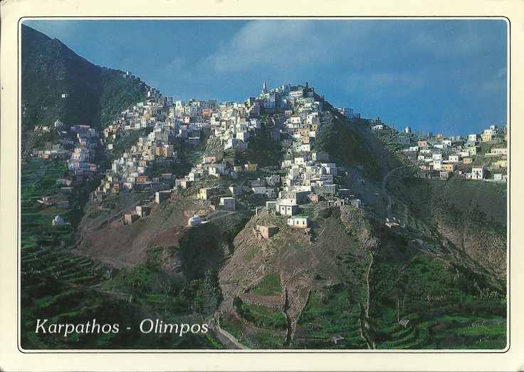 Karpathos - Olimpos, Greece