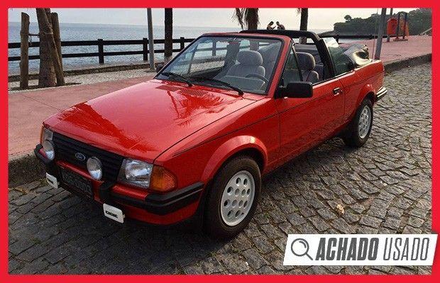 Com apenas 34 mil km rodados, modelo ano 1985 está em estado de zero km, mas o preço chega a R$ 48 mil