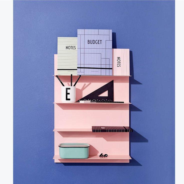 molly meg paper shelf a2 size – pink
