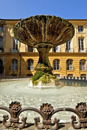 17 best images about france fountains fontaines on pinterest wall fountains aix en. Black Bedroom Furniture Sets. Home Design Ideas