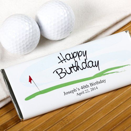 Personalized Birthday Hershey's Chocolate Bars by Beau-coup
