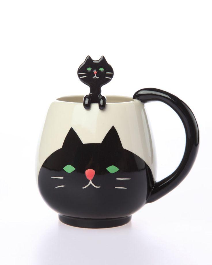 Cat Mug. So cute!