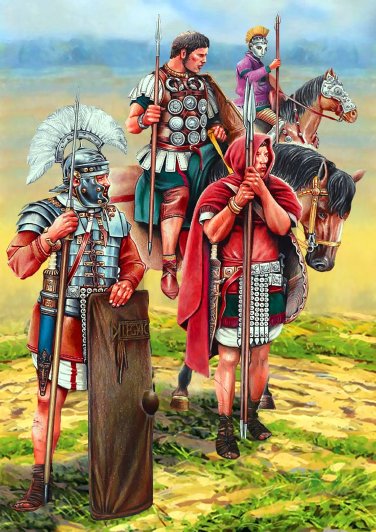 Roman Army Units in the Western Provinces- Legionary cavalrymen and auxiliary infantrymen