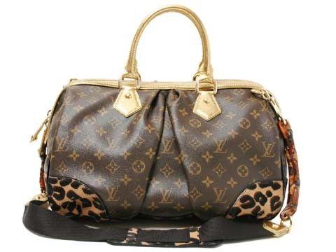 Louis Vuitton Leopard Stephen bag