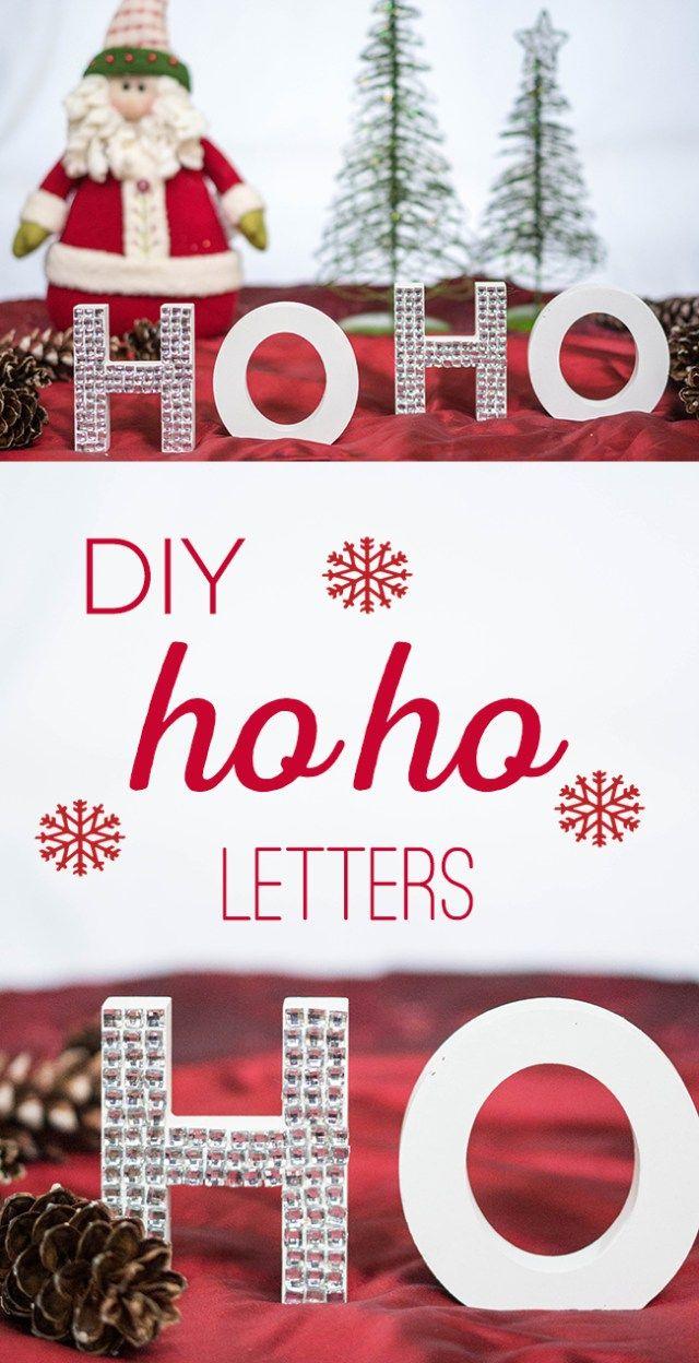 fir letter format%0A DIY Ho Ho Christmas Letters