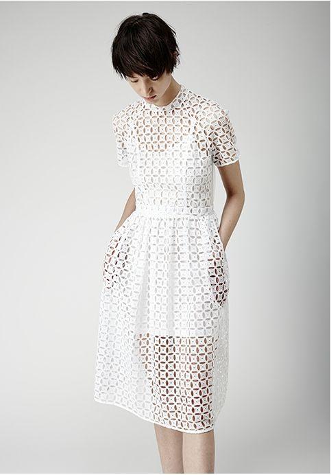 Simone Rocha White Dress