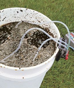 this works great...directions for compost tea maker. We have used it and it really makes a difference.