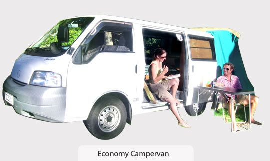 Budget campervan hire Auckland