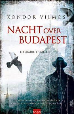 Kondor Vilmos | Budapest Noir | dutch cover | #book #cover #crime