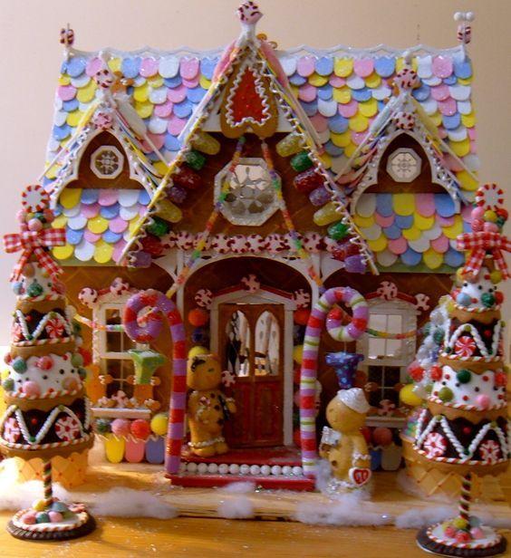 Candyland Christmas Door Decoration How To Make Fake