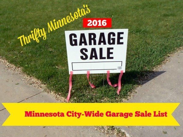 Get rid of the leftovers from your garage sale.