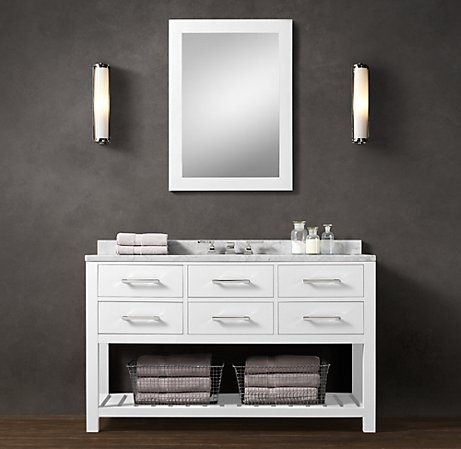 Original Restoration Hardware  Bathroom Vanity  Inside Bathroom  Pinterest