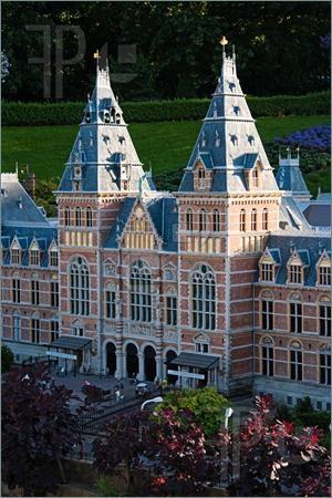 Madurodam, miniature city. The Hague, The Netherlands.