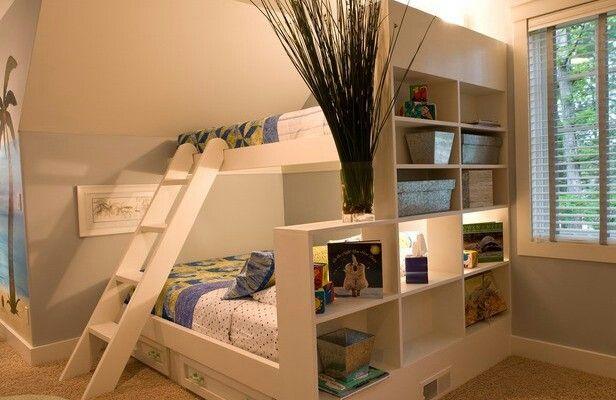 Design for economical space of bed room kids