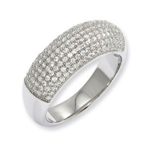 Sterling Silver Micro Pave Set CZ Cluster Band Ring #Christmas 2016 #Jewelry #Personalized #Unique #Simple #Gifts @ Gemologica.com #Xmas #Gift guide finder ideas for #Him #Her #Kids #Jewellery #couponcode #deals #sale Stocking Stuffer #Ideas. #Presents for girlfriends, boyfriends, children, men, women from the #Gemologica Jewelry Store. #Earrings #Rings #Necklaces #Bracelets #Gold #Silver #Fashion #Style