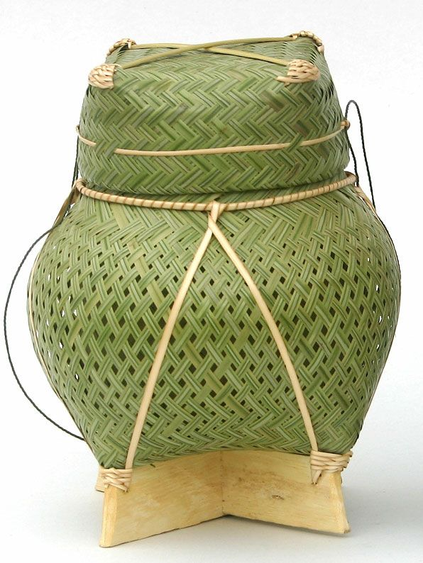 how to clean sticky rice basket