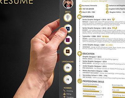 """Check out new work on my @Behance portfolio: """"My resume"""" http://on.be.net/1Hfi1zq"""