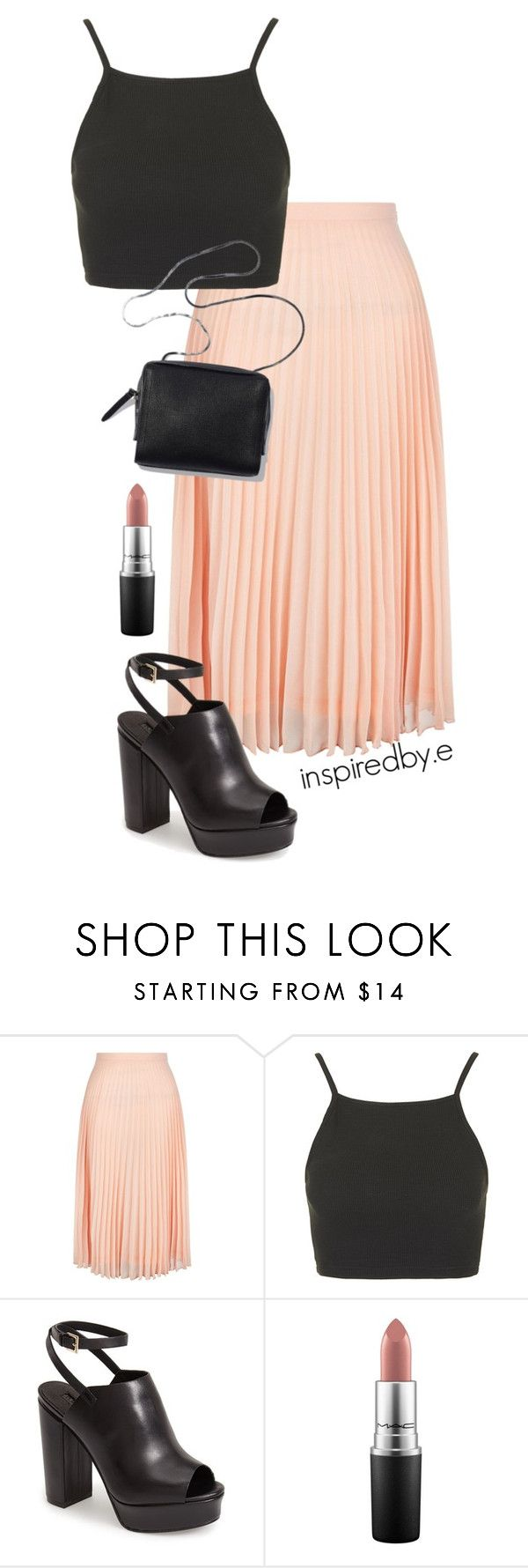 """Lion King"" by emmakiis on Polyvore featuring New Look, Topshop, 3.1 Phillip Lim and MAC Cosmetics"