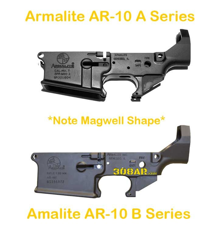 Official Armalite AR-10 Lower Receivers