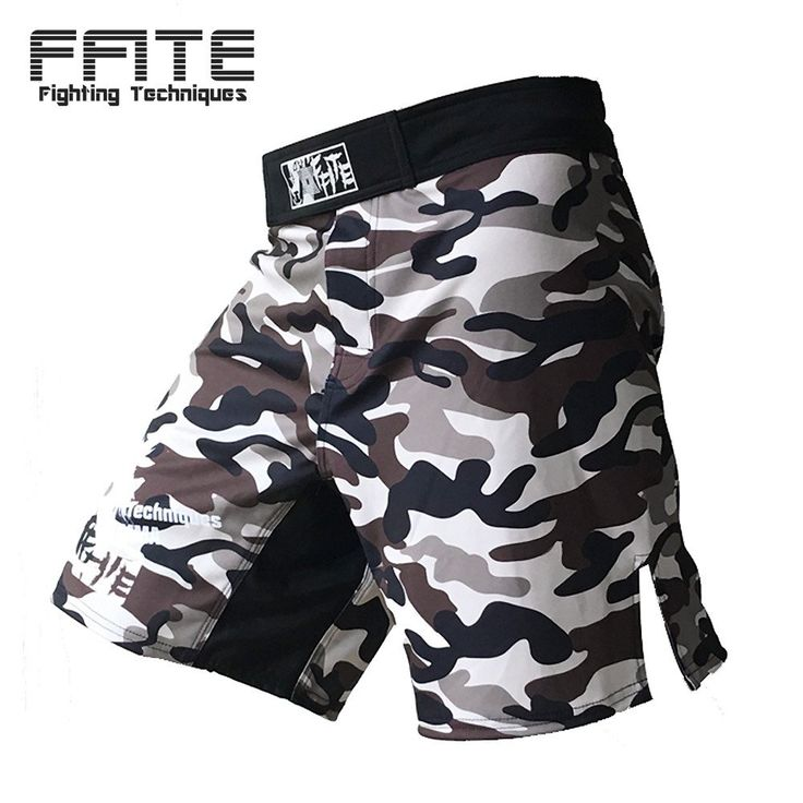 MMA shorts Kick Boxing Muay Thai Shorts Trunks Camo Muay Thai Sanda Boxer Fight Wear