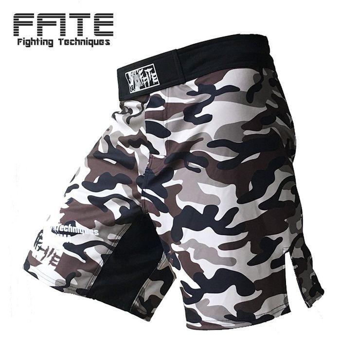 MMA shorts Kick Boxing Muay Thai Shorts Trunks Camo Muay Thai Sanda Boxer Fight Wear