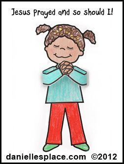 coloring pages prayer prayer craft coloring pages