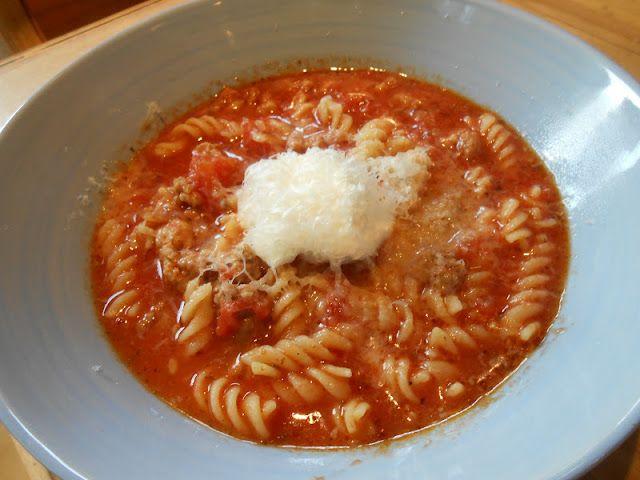 Soupe style lasagne