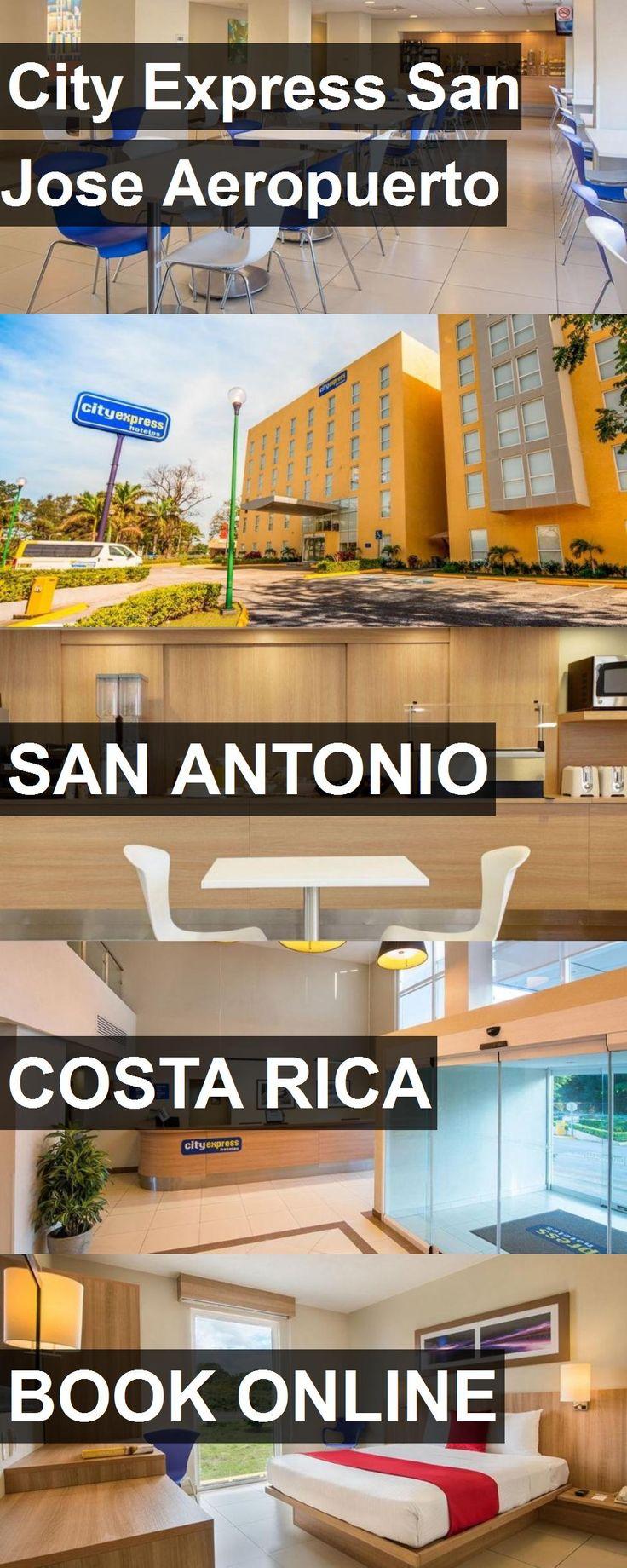 Hotel City Express San Jose Aeropuerto in San Antonio, Costa Rica. For more information, photos, reviews and best prices please follow the link. #CostaRica #SanAntonio #travel #vacation #hotel