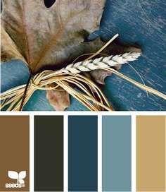 Herfst kleurinspiratie - Woontrendz ... ik ga denk ik voor deze kleuren in de slaapkamer