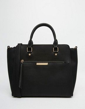 Oasis Tote Bag With Zip Front Pocket