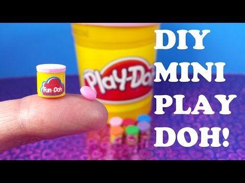 DIY Miniature Play Doh - YouTube