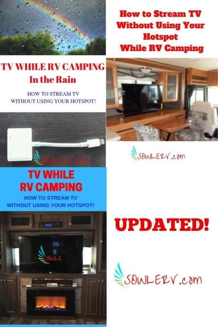 How to Setup a Device for Streaming TV While RV Camping