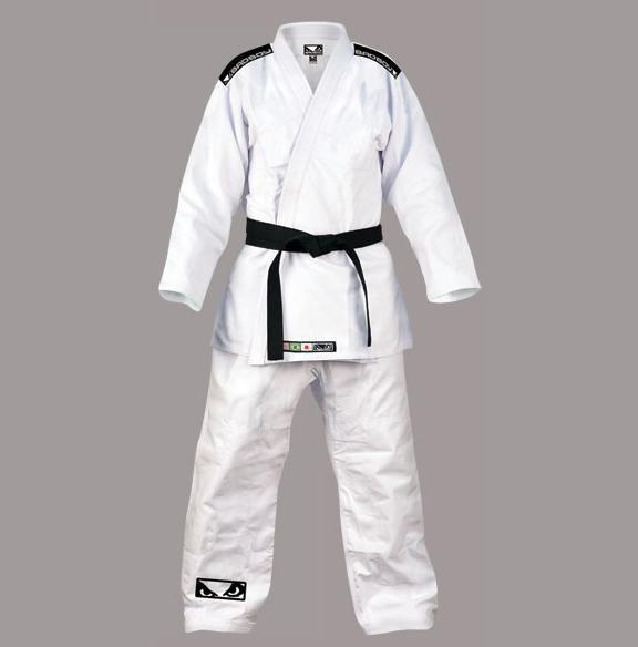 Bad Boy - Standard Jiu Jitsu Gi - White