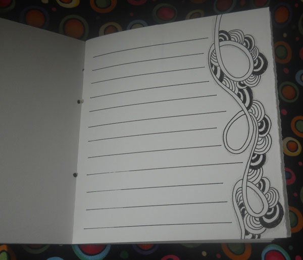 Cool border - From a Zentangle journal