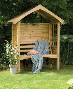 Cadiz Garden Arbour Seating