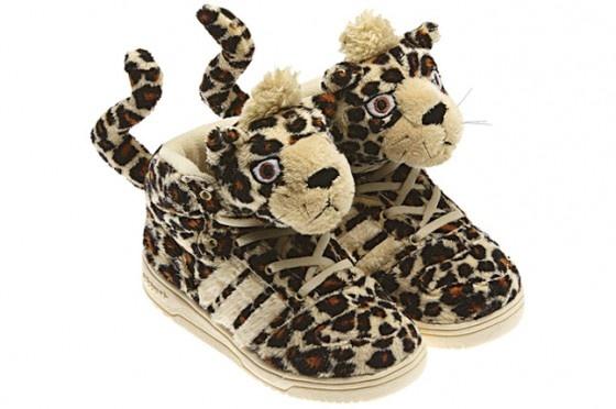 Adidas and Jeremy Scott: Fashion Kids, Summer Kids, Leopards Shoes, L'Wren Scott, Kids Shoes, Adidas Originals, Adidasjeremyscott Footwear, Kicks, Jeremy Scott